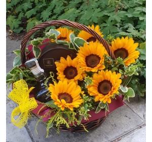 Кошница  Сладки слънчогледи